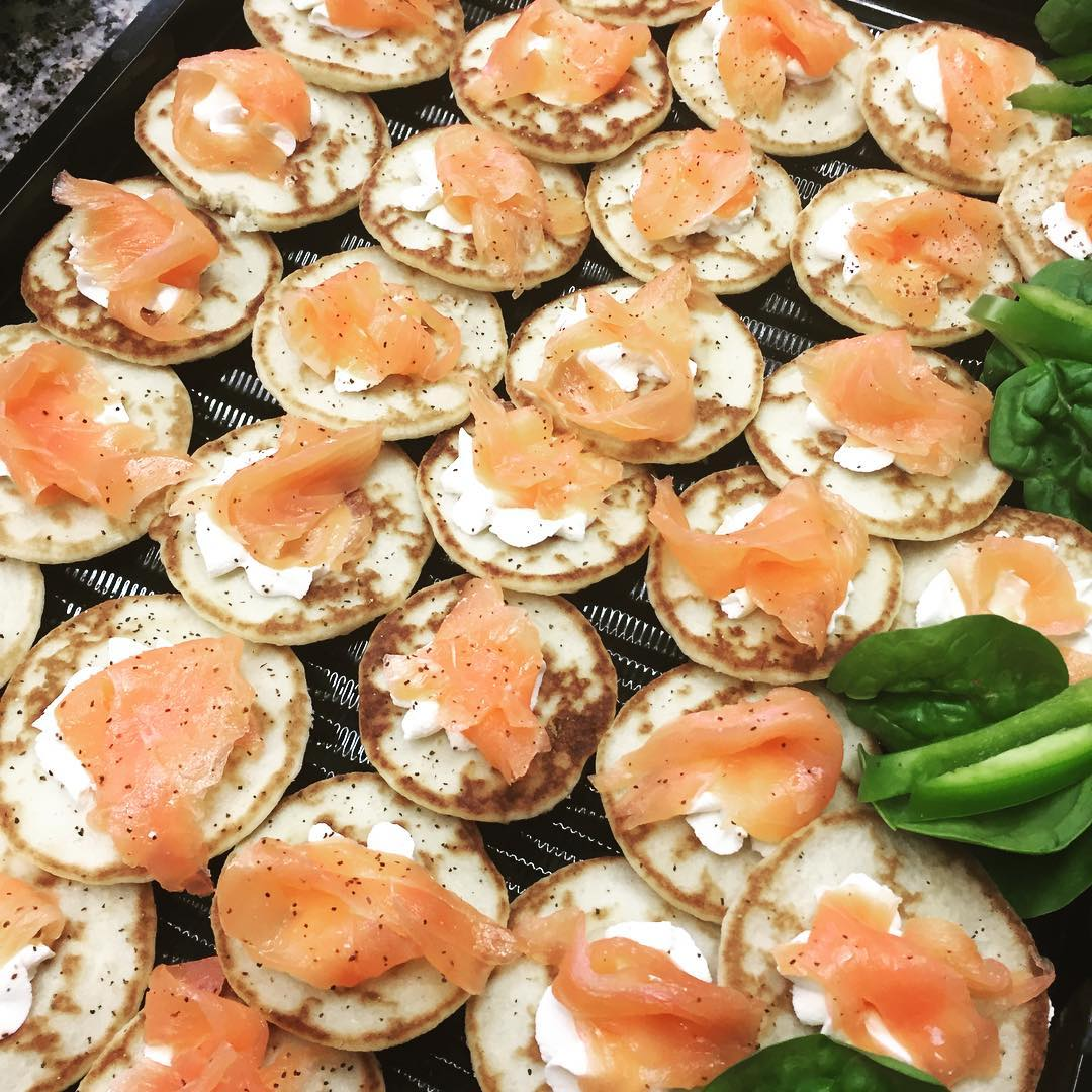Canapes - Smoked Salmon